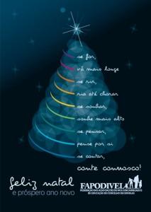 FAPODIVEL - Feliz Natal e Próspero ano Novo